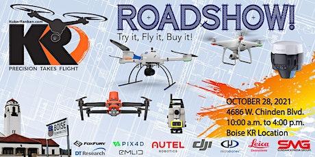 Kuker-Ranken Drone Roadshow - Boise, ID - Try it, Fly it, Buy it! tickets