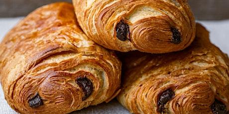 Croissant and Chocolat croissant workshop tickets