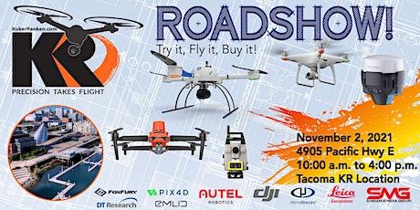 Kuker-Ranken Drone Roadshow - Tacoma, WA - Try it, Fly it, Buy it! tickets