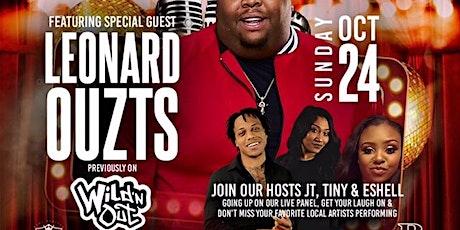ALL BLAKK AFFAIR: The Blakk Sunday Podcast Live featuring Leonard Ouzts tickets