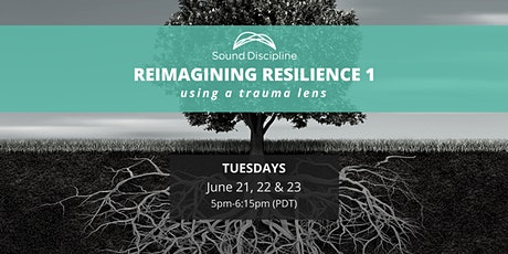 Reimagining Resilience  1: Using a Trauma Lens - June 21, 22 & 23 tickets