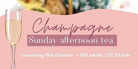 Champagne Sundays Afternoon Tea tickets