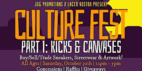 "J&G Promotions Present Culture Fest PT. I ""Kicks & Canvases"" tickets"