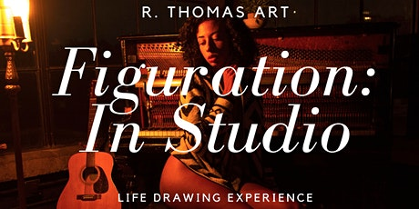 Figuration: In Studio at OBJX Life Drawing Experience tickets