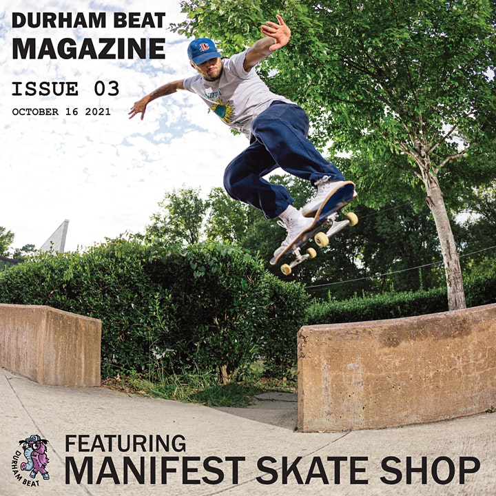Magazine Release Party for Durham Beat and Manifest Skate Shop image