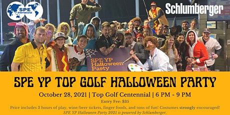 2021 SPE YP Topgolf Halloween Party tickets