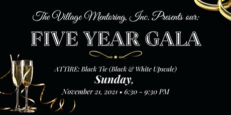 Five Year Gala tickets
