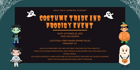 Costume Trade and Prodigy Event tickets