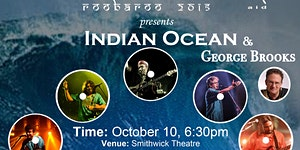 Indian Ocean & George Brooks: Live! - Roobaroo 2015