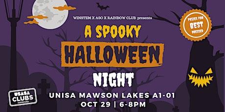 A Spooky Halloween Night - Women in STEM X ASO X Rainbow Club tickets