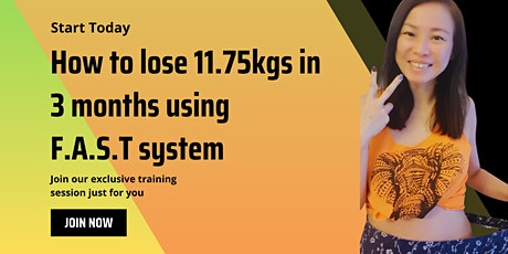 How to lose 11.75kg in 3 months without exercise and dieting tickets
