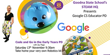 Code and Go in the Early Years tickets