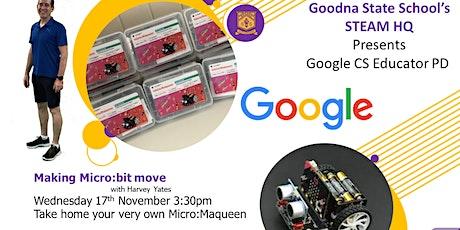 Making Micro:bit move tickets