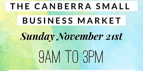 November Canberra Small Business Market tickets