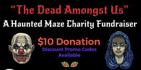 Altadena Haunted Maze Charity Fundraiser Event! tickets