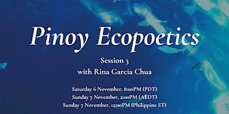 Pinoy Ecopoetics: Poetry Workshop Series tickets