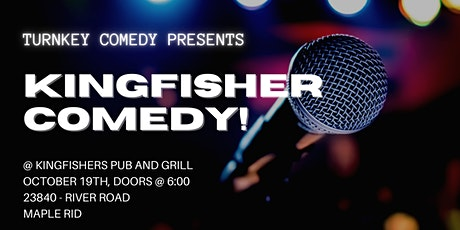 Kingfisher Comedy tickets
