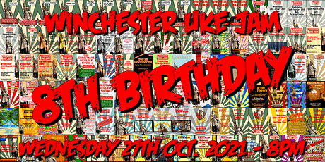 Winchester Uke Jam - October - 'The 100th Halloween Birthday Special' tickets