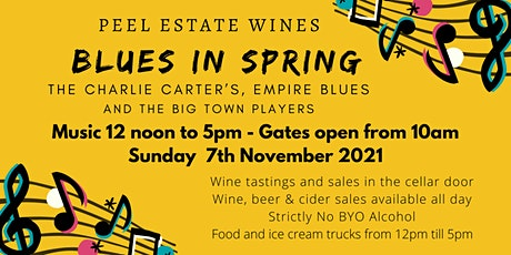 Blues in Spring at Peel Estate tickets