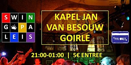 Swingpaleis CC Jan v Besouw 2 apr 2022 - Goirle tickets