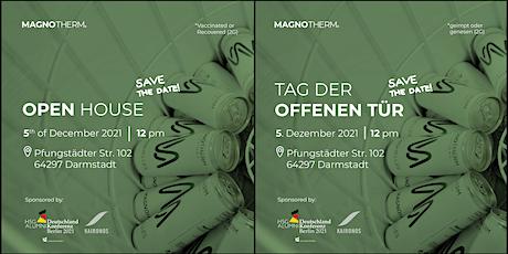 OPEN HOUSE | Tag der offenen Tür @ MAGNOTHERM Tickets