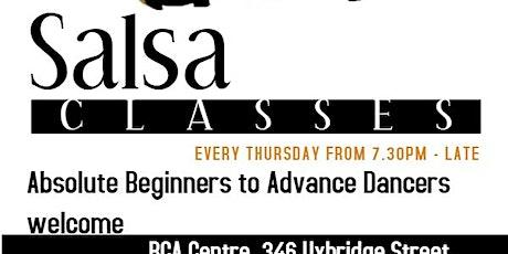 Burton on Trent Beginners salsa classes tickets
