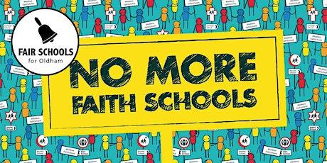 No More Faith Schools - A talk tickets