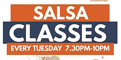 Wheaton Aston Beginners Salsa Classes tickets