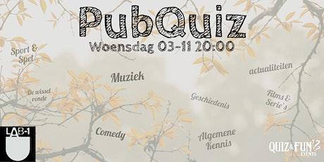 PubQuiz November | Eindhoven tickets