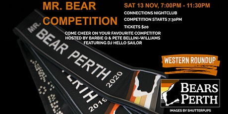 Mr. Bear Perth Competition 2021 | Bears Perth Western Roundup tickets
