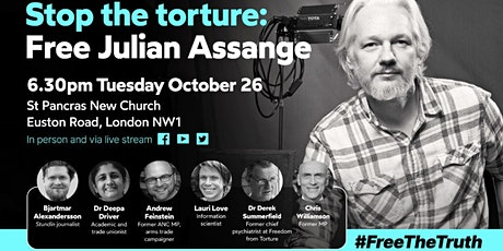 Stop The Torture: Free Julian Assange #FreeTheTruth tickets