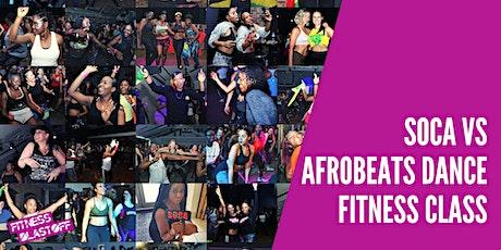 Soca vs Afrobeats Dance Fitness Workout tickets