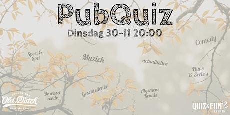 PubQuiz november | Breda tickets