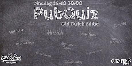 PubQuiz Old Dutch editie | Breda tickets