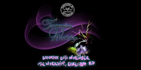 QuickFreddie Terrarium Workshop tickets