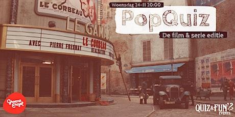 PopQuiz, De Film & Serie editie | Oss tickets