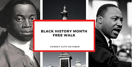 BLACK HISTORY MONTH FREE WALK WITH QUALIFIED LONDON GUIDE tickets