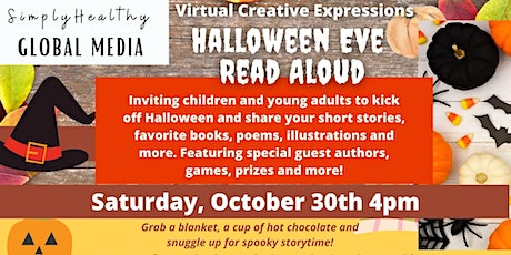 Virtual Expressions Halloween Eve Read Aloud tickets