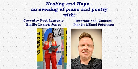 Healing and Hope - an evening of piano and poetry tickets