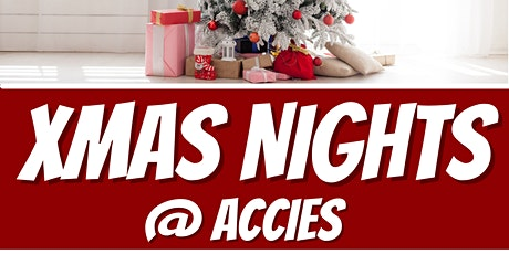 Xmas Parties at  Accies tickets