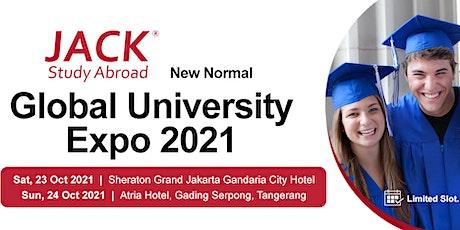 Global University Expo 2021 Day 1 - Sheraton Gandaria Jakarta tickets