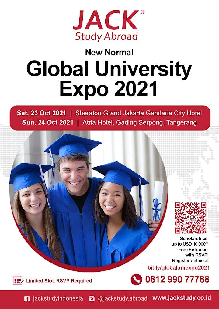 Global University Expo 2021 Day 1 - Sheraton Gandaria Jakarta image