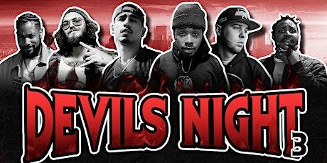 Devils Night 3 tickets