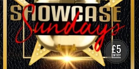 SHOWCASE SUNDAYS tickets
