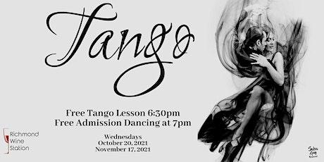 Tango Nights at The Richmond Wine Station tickets