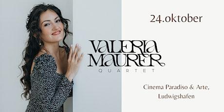 Valeria Maurer Quartett  in Cinema Paradiso & Arte Tickets