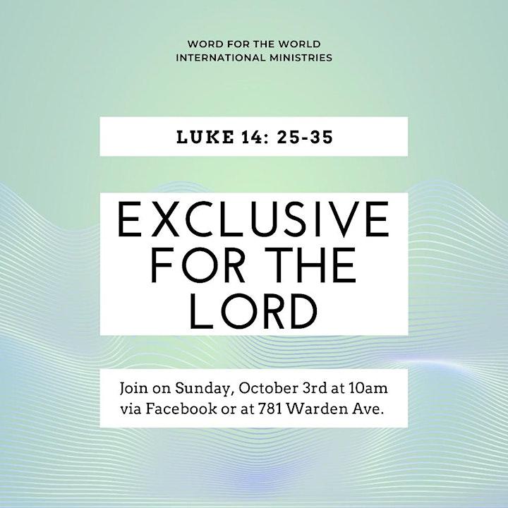 Word Toronto Sunday Celebration image