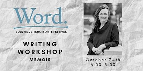 Memoir Workshop: Let's Write a Scene Together with Elizabeth Garber tickets