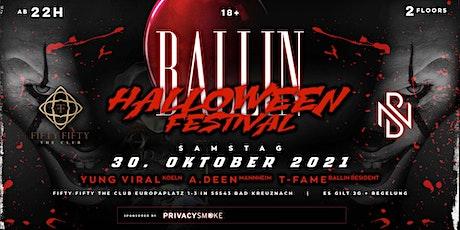 Halloween Festival by BALLIN 18+ Tickets