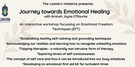 Journey towards Emotional Healing - with Aminah Jayne O'Rourke tickets
